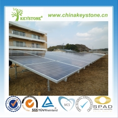 Ground solar mounting with Galvanized Steel